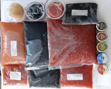 Caviar red salmon, sturgeon, pike, wholesale, retail