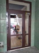 Двері металопластикові. Вхідні та міжкімнатні. недорого