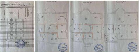 Obukhov. House 2 FL., 384 m2, on 10 acres of land