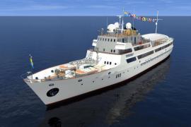Продам теплоход «Пицунда» (моторная яхта) 64 м