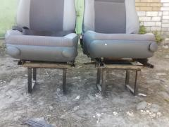 Seat, with swivel mechanism, lifter, foldable backrest